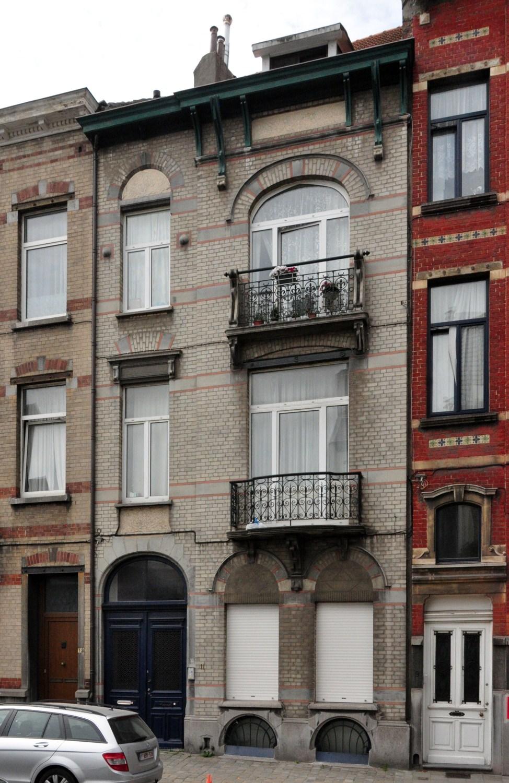 Rue Thomas Vinçotte 11, 2012