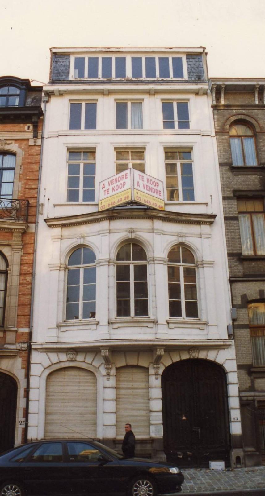 Rue des Aduatiques 25., 1993