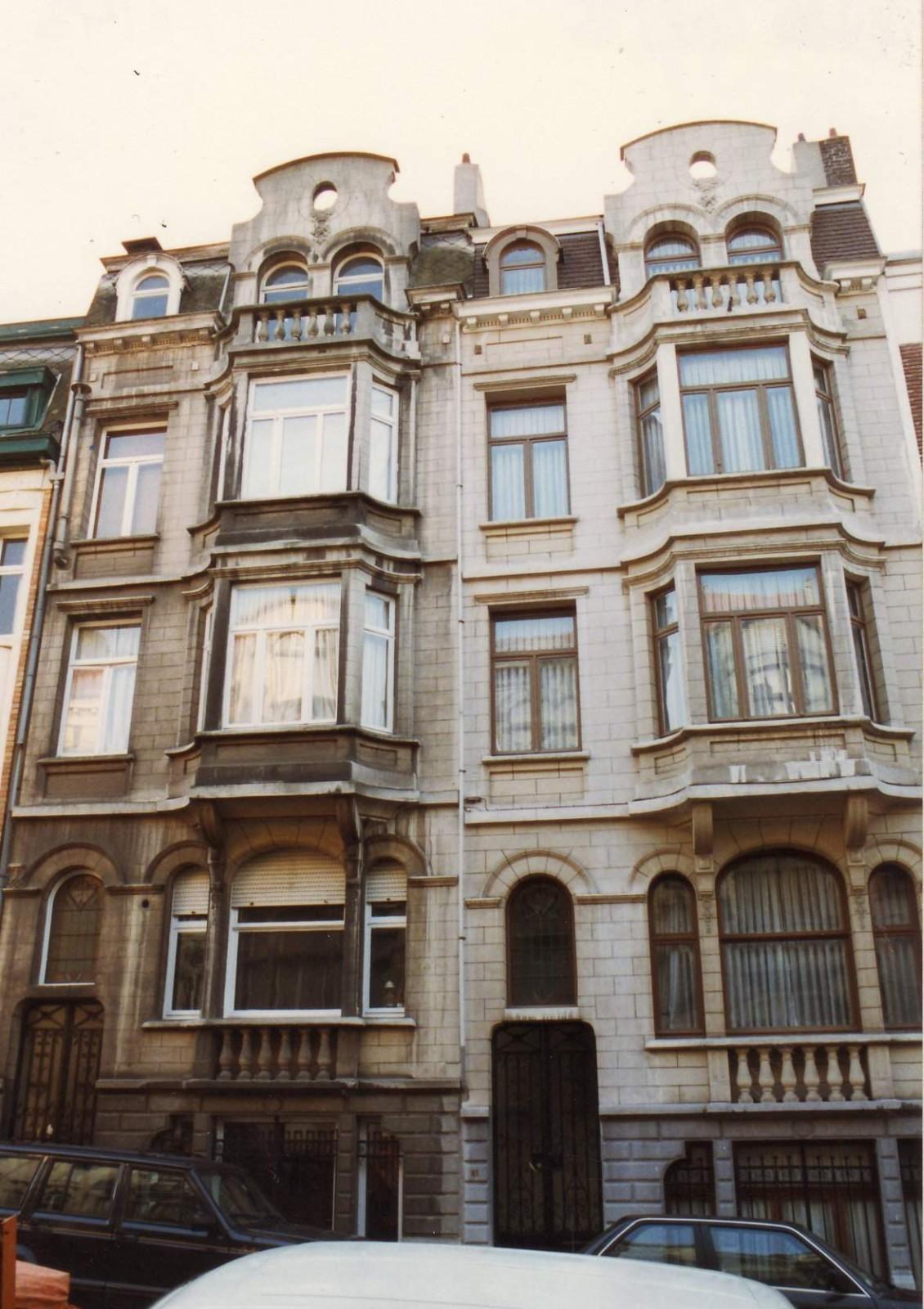 Rue des Aduatiques 61 et 63, 1993