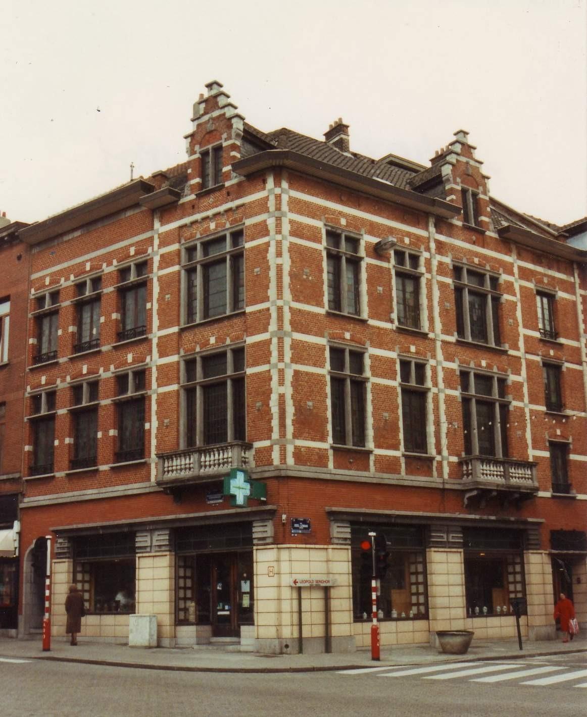 Avenue d'Auderghem 134 et rue Général Leman 124., 1994