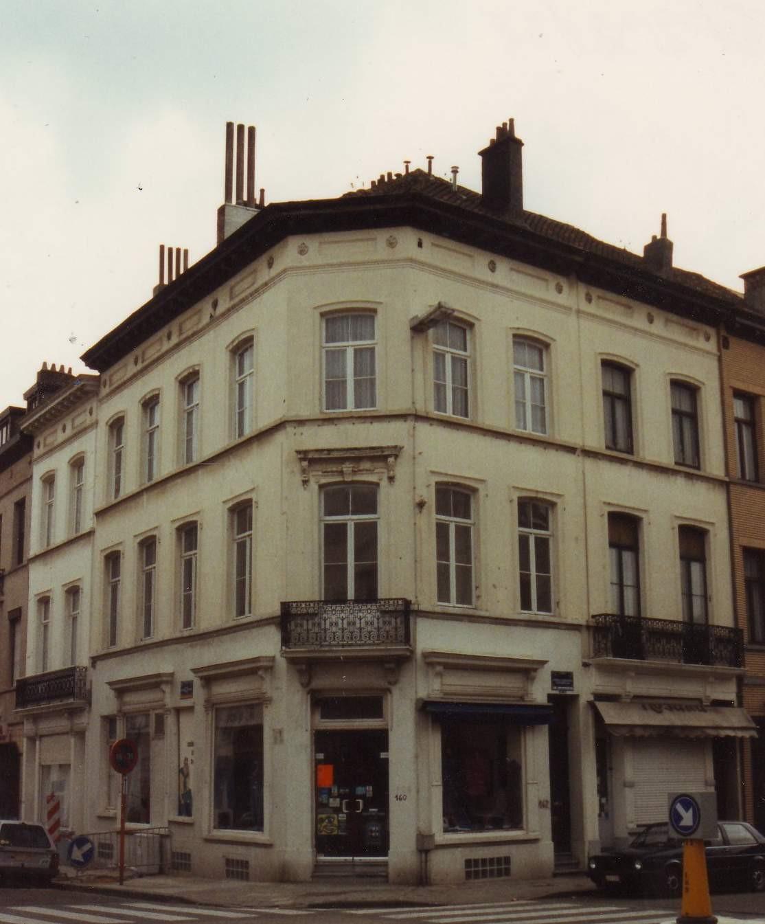 Oudergemlaan 160-162, 164-166 en Sint-Pieterssteenweg 143-145., 1994