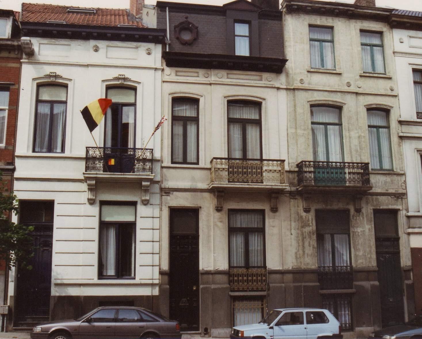 Avenue d\'Auderghem 245 à 249., 1994
