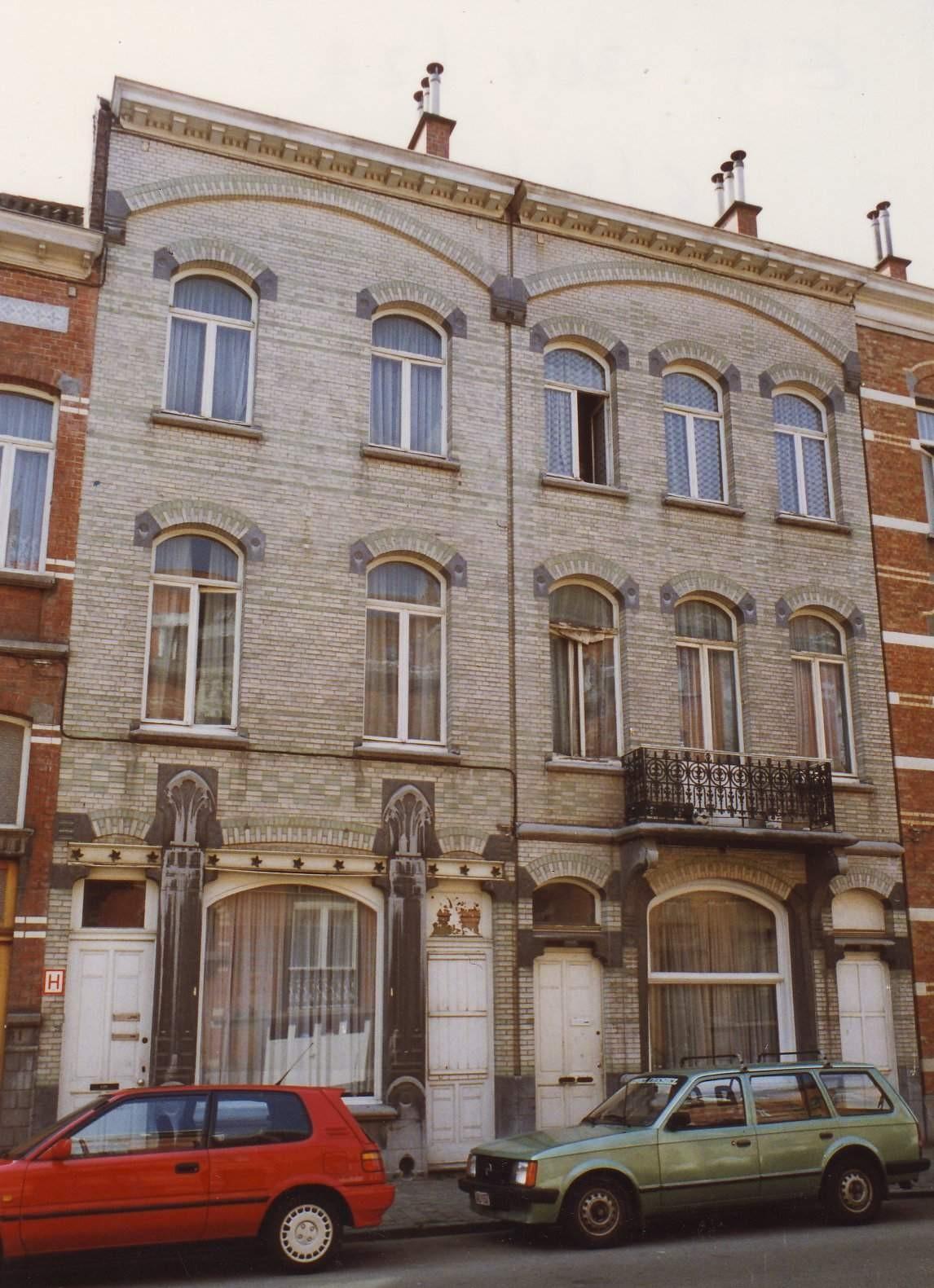 Rue des Boers 73-75 et 77-79., 1993