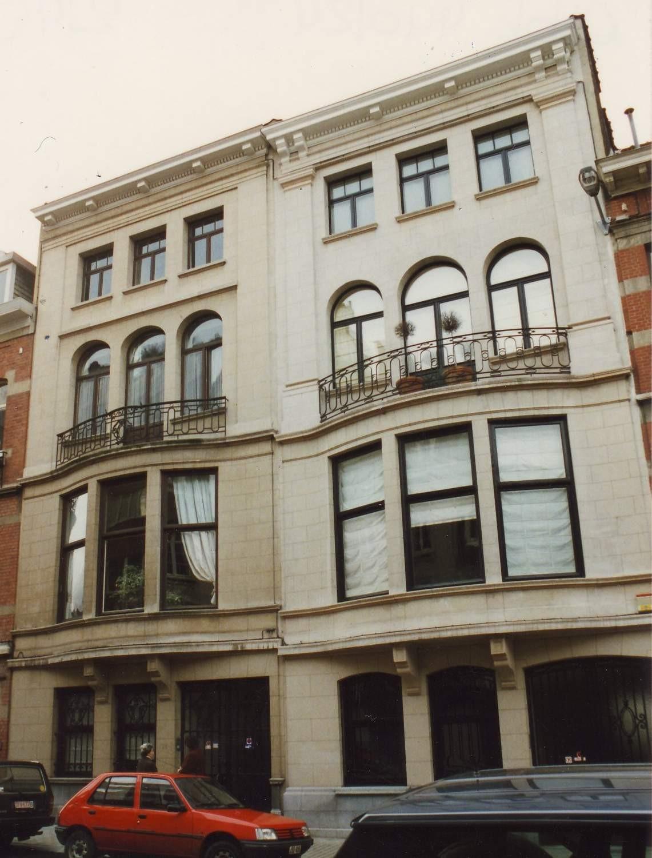 Rue de Bollandistes 19 et 21., 1994