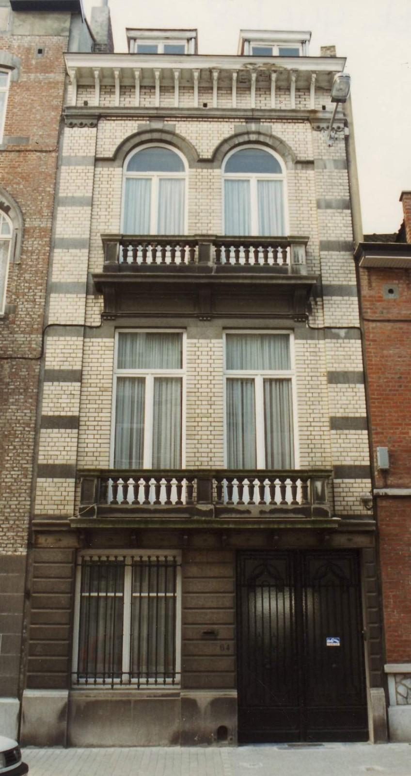 Rue Charles De Groux 64., 1994