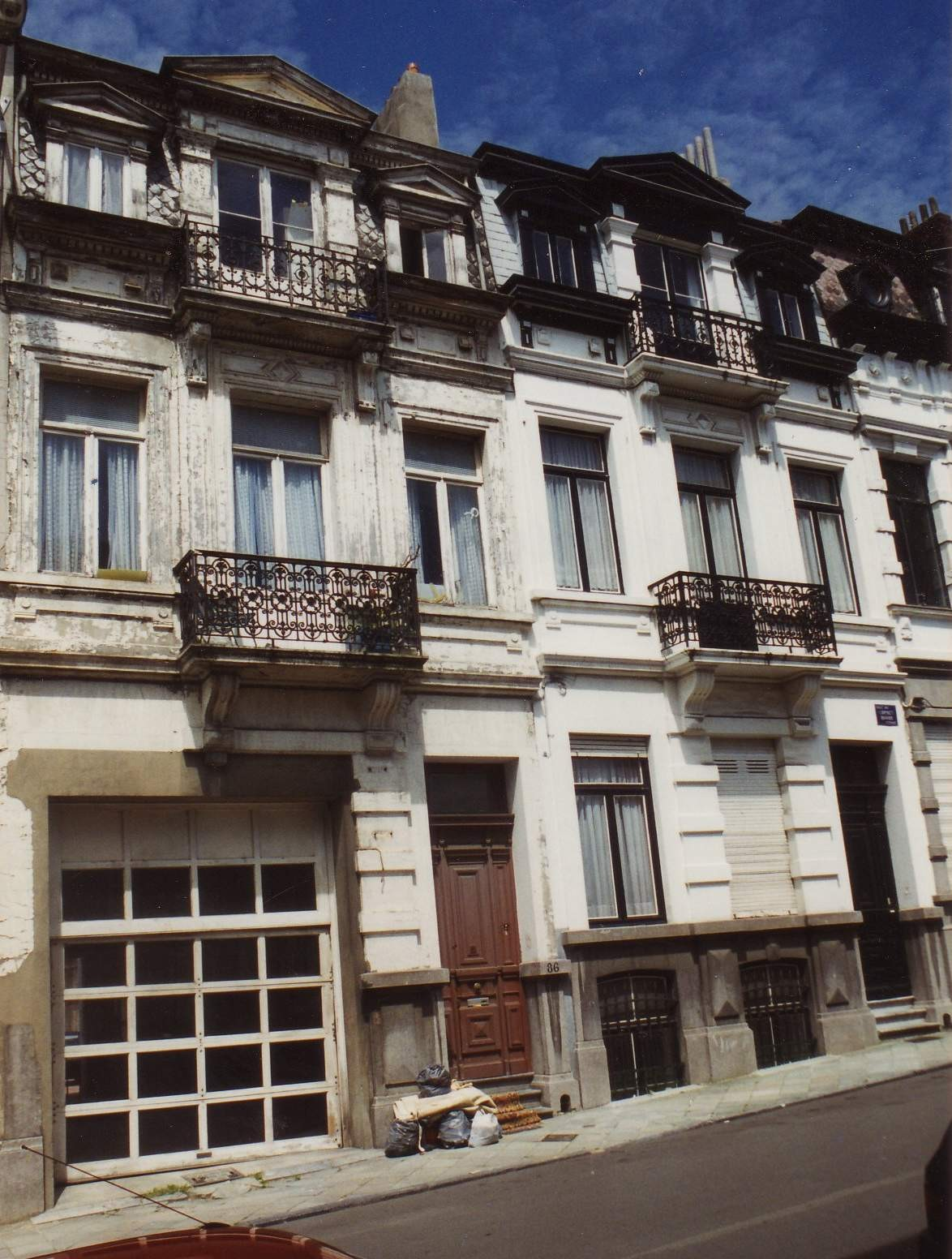 Rue du Cornet 86 et 88., 1994