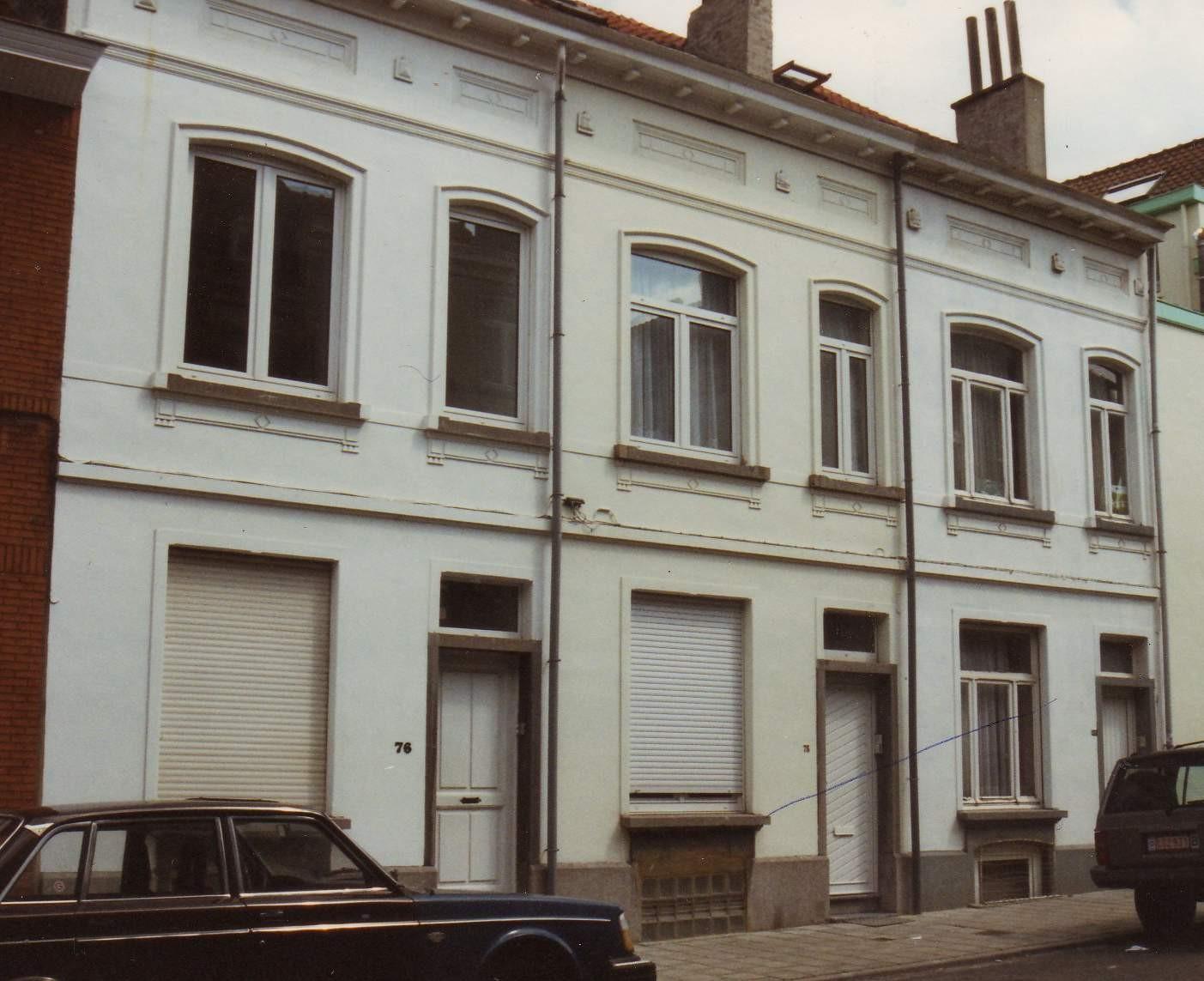 Rue des Cultivateurs 76 à 80., 1994