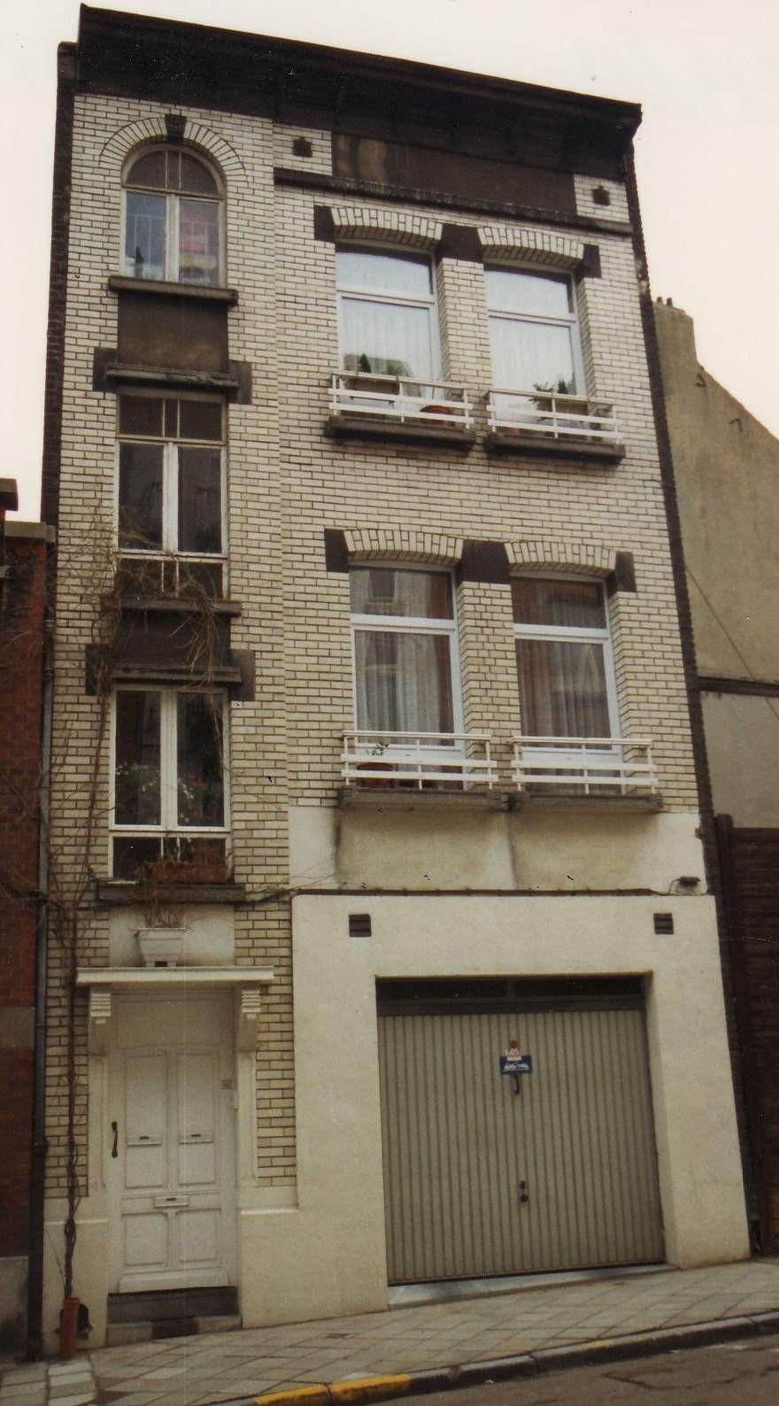 Rue de Haerne 66., 1993