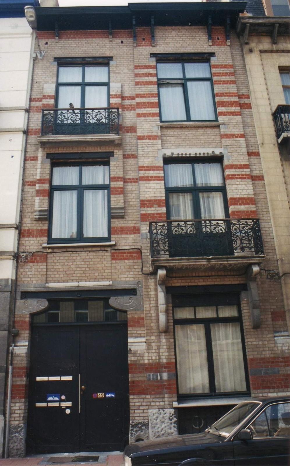 Rue de Theux 49., 1994