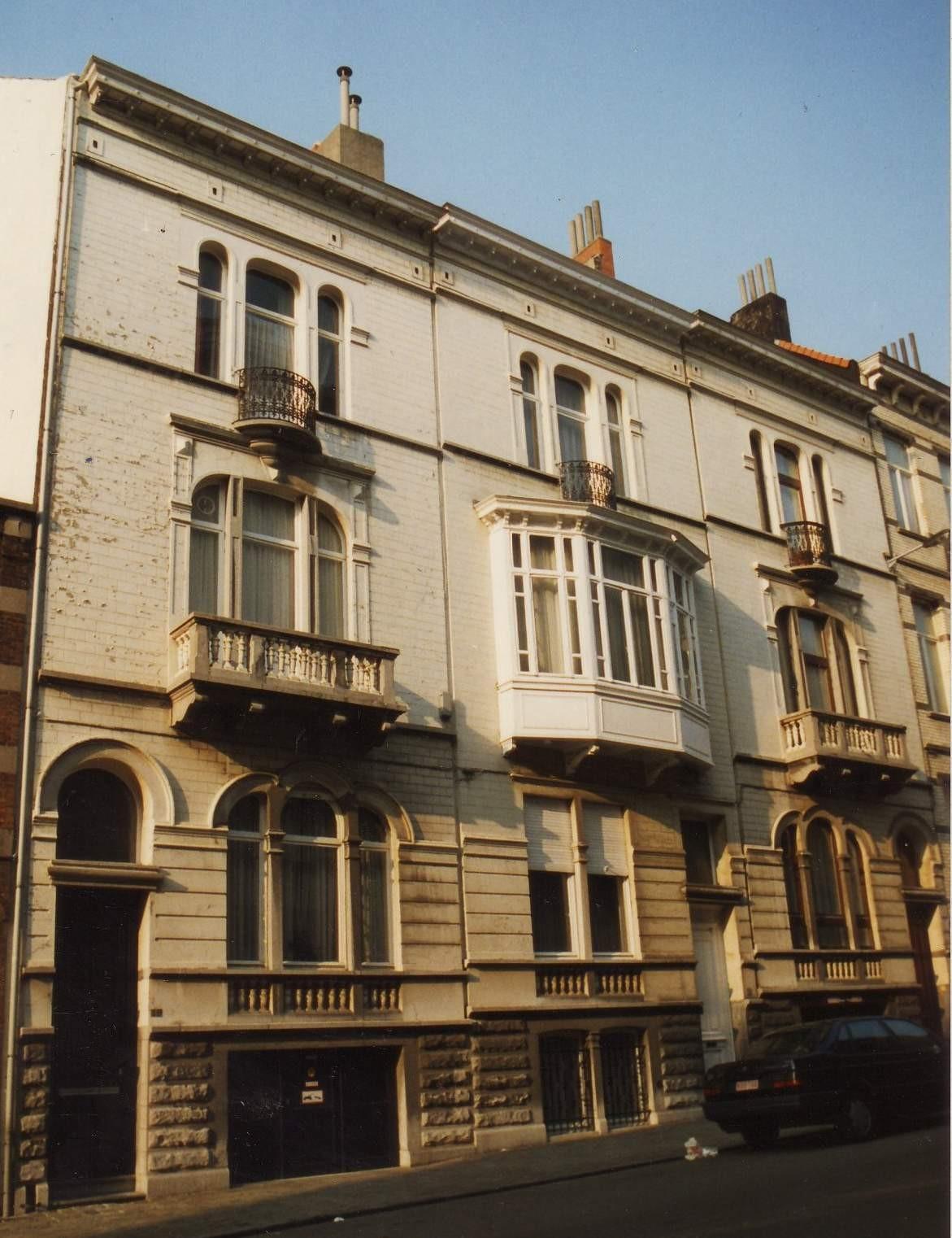 Rue d\'Oultremont 10, 12 et 14., 1994