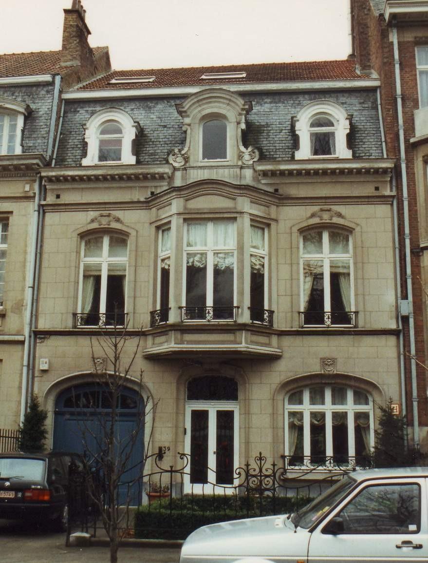 Avenue Edmond Mesens 39., 1993