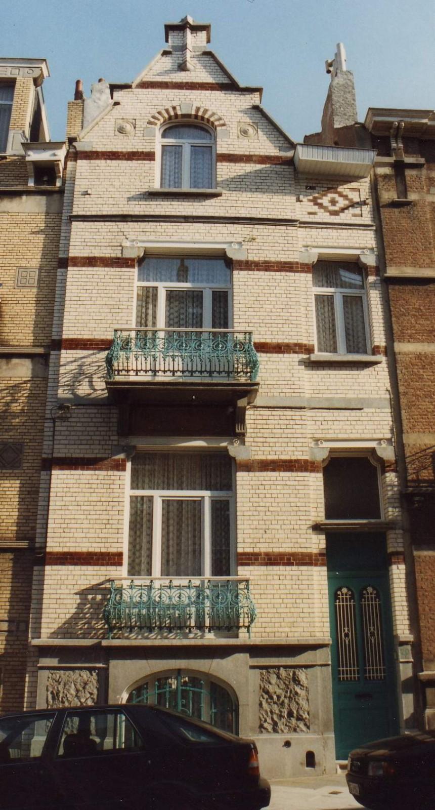 Ernest Havauxstraat 20., 1993