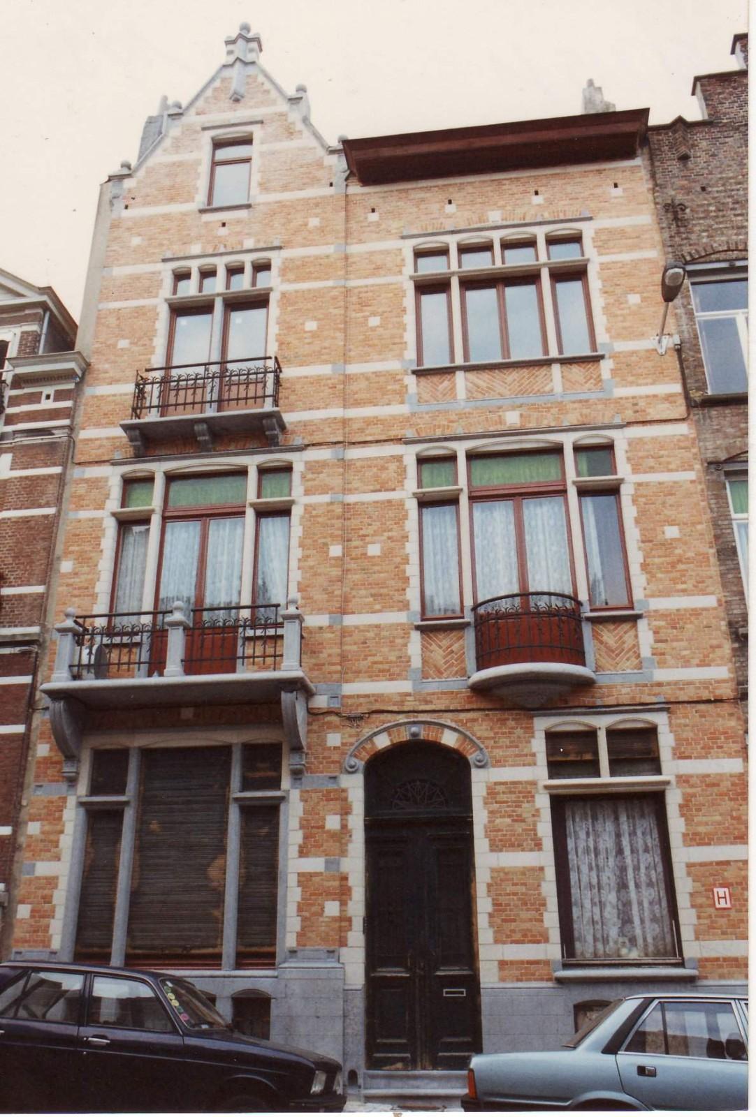 Rue Ernest Havaux 21., 1993