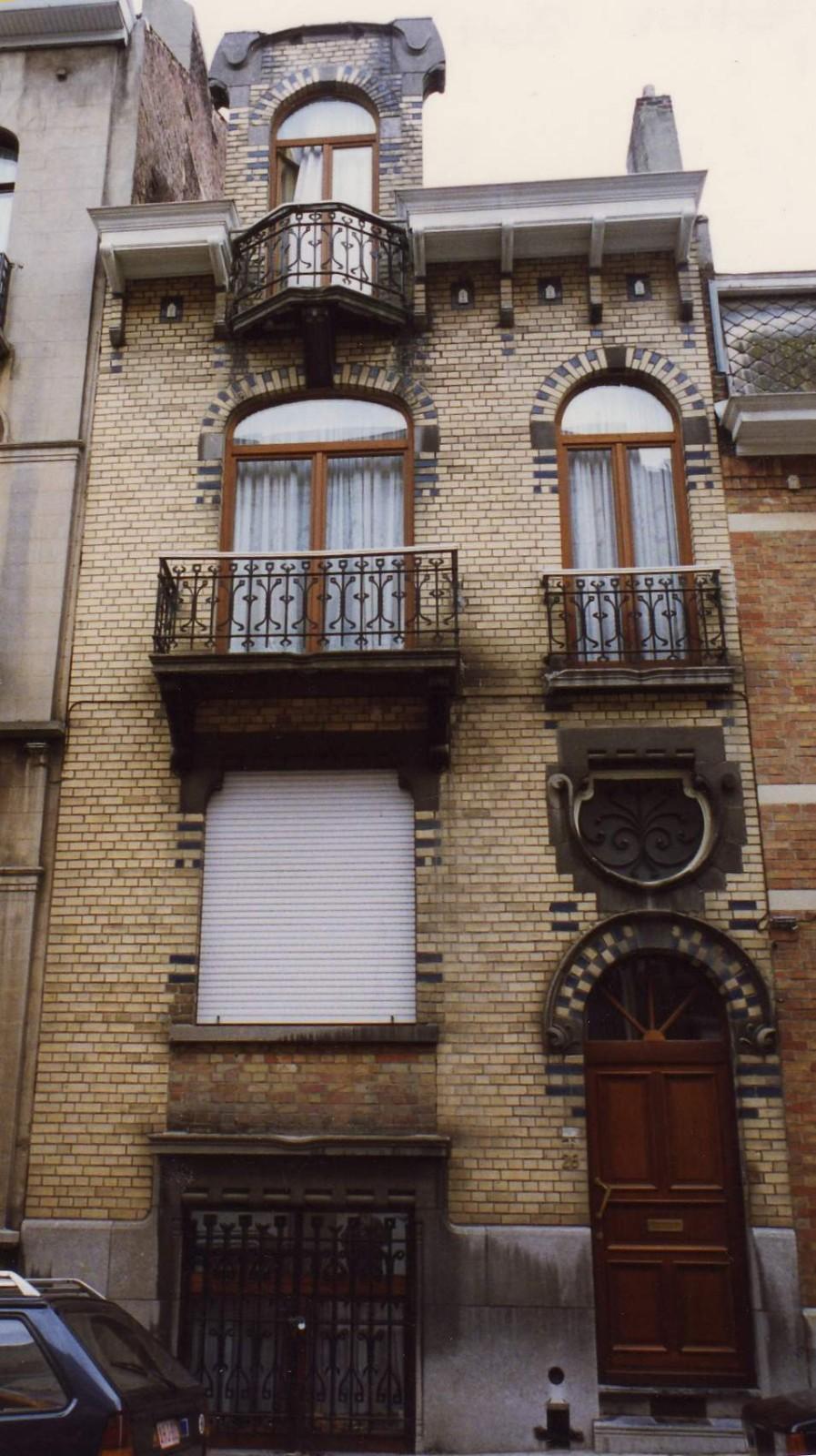 Rue Ernest Havaux 26., 1993