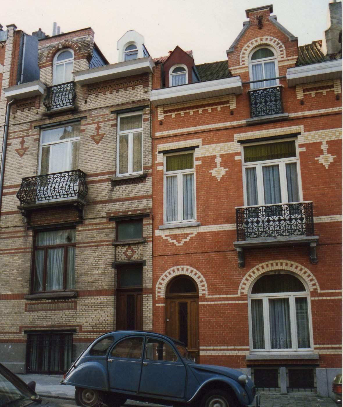 Ernest Havauxstraat 27 en 29., 1993