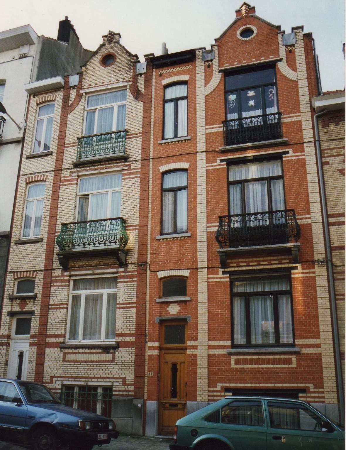 Rue Ernest Havaux 31 et 33., 1993