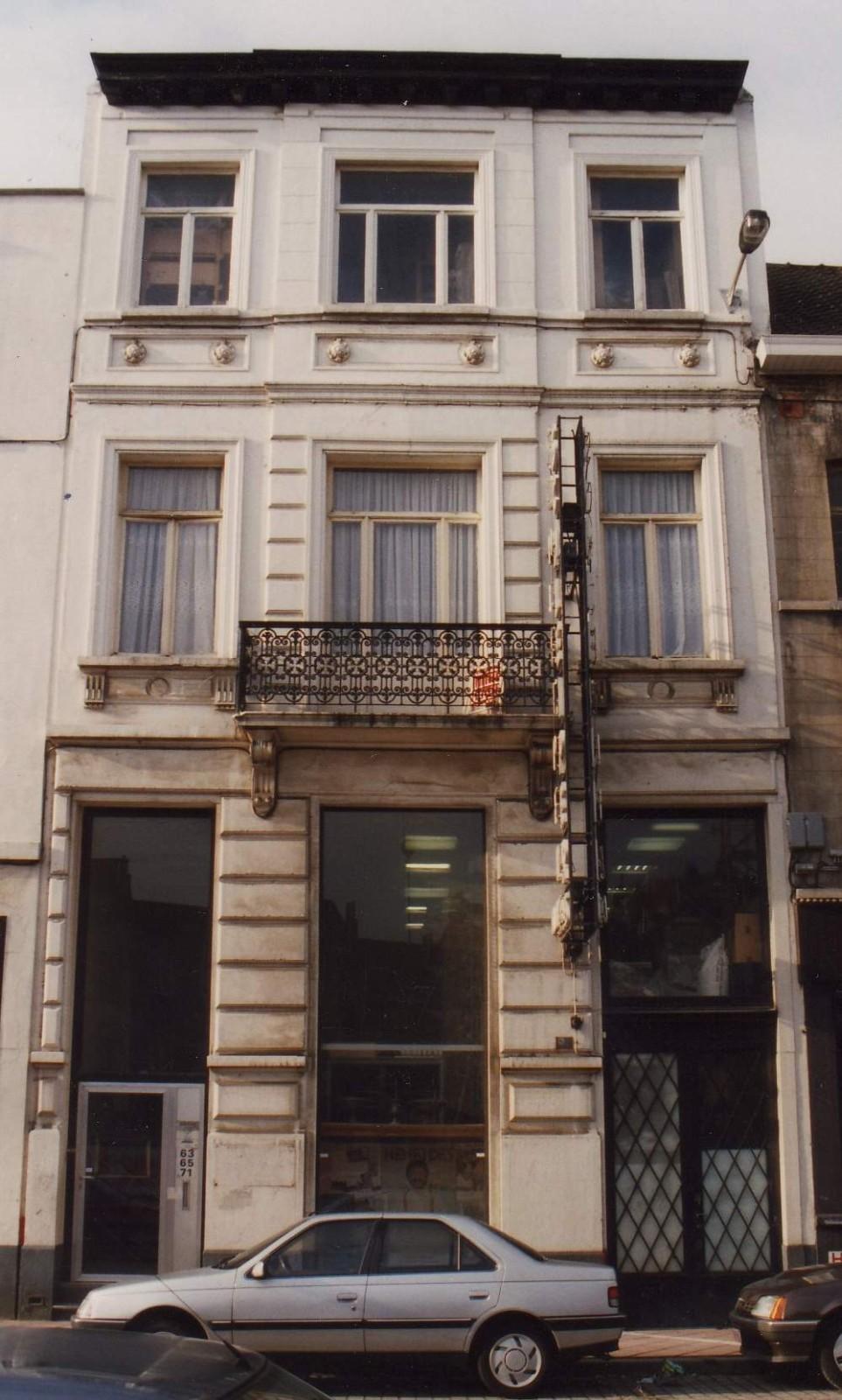 Rue de l'Etang 63-65-71., 1993