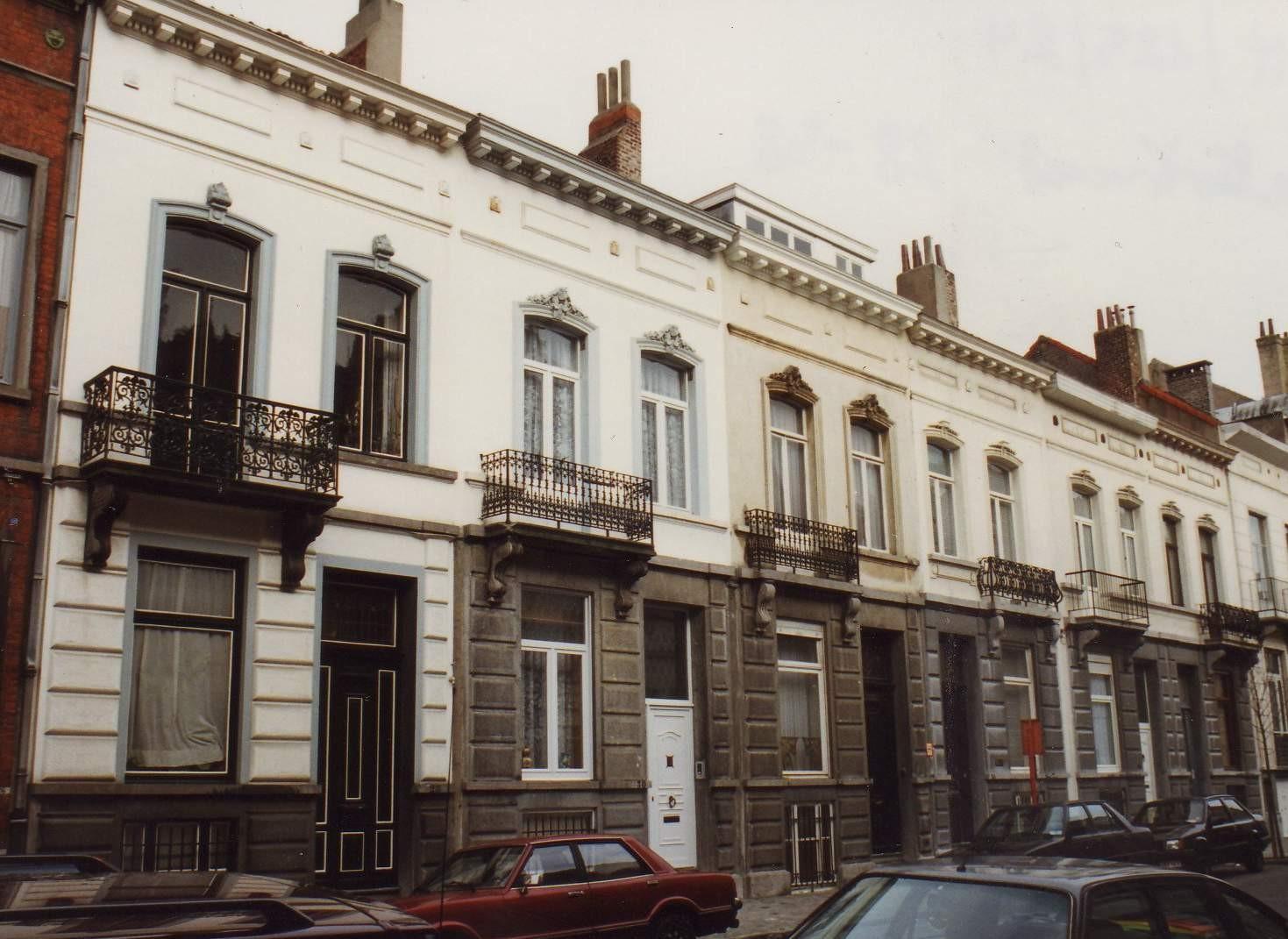 Rue Fétis 28 à 38., 1994