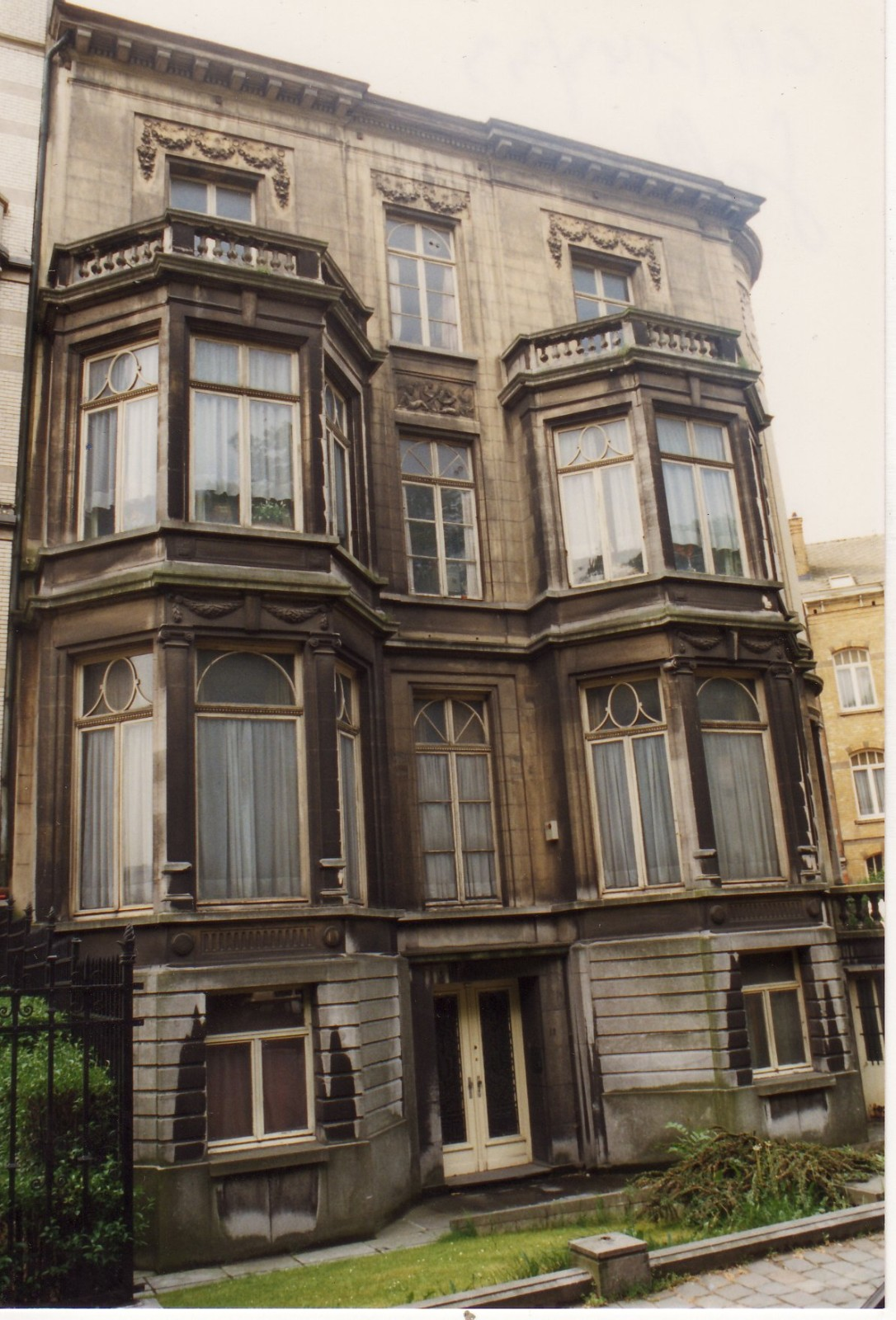 Avenue des Gaulois 18 à l'angle de la rue des Francs., 1994