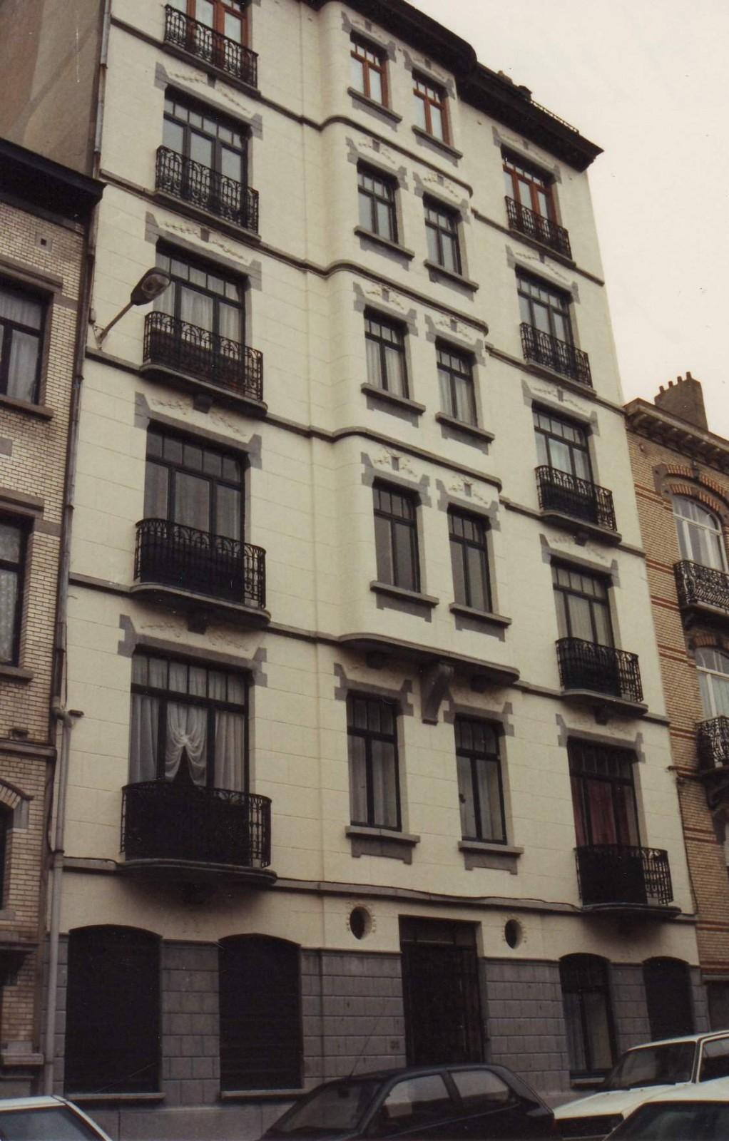 Rue Général Capiaumont 32., 1993