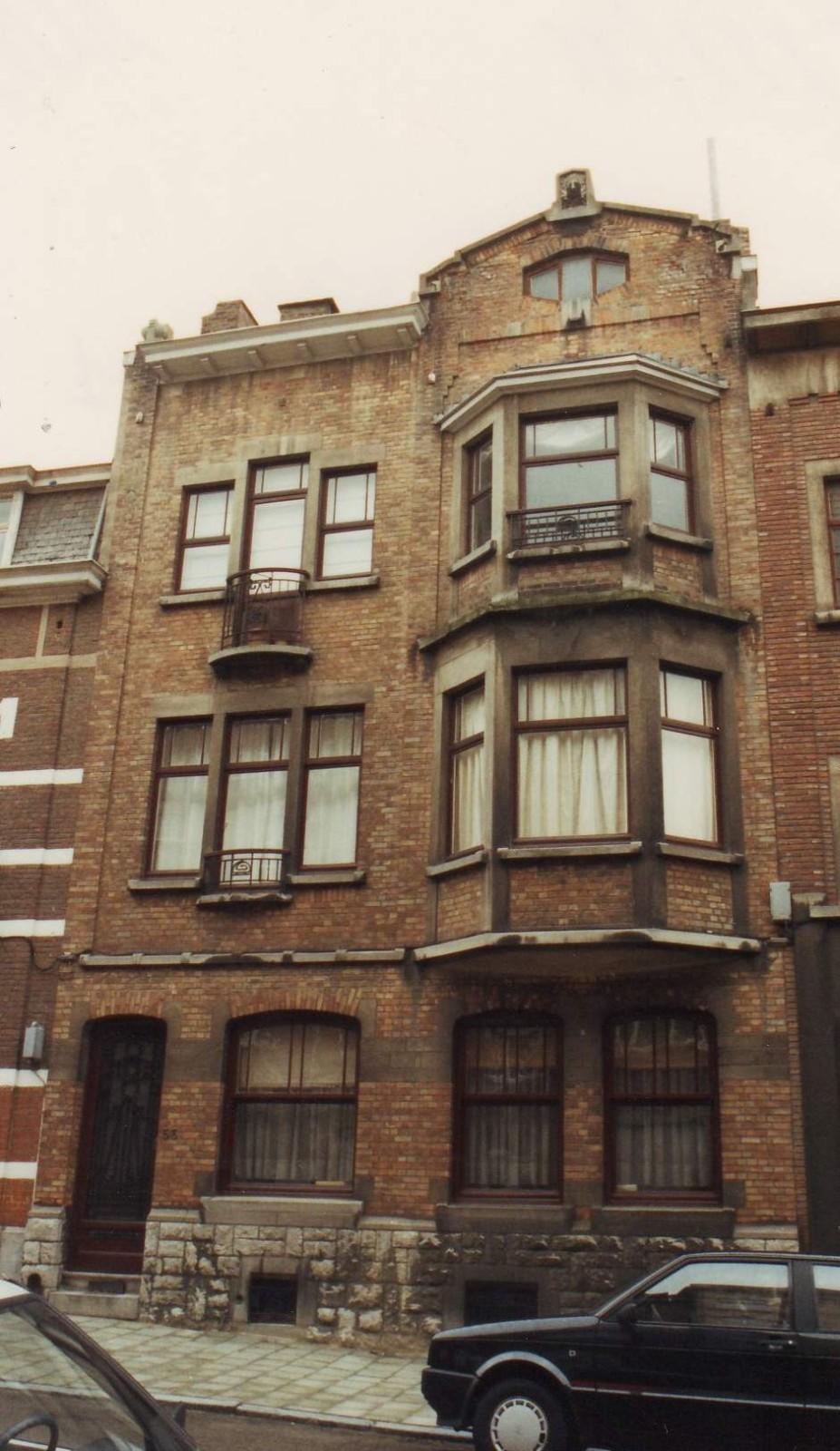 Rue Général Capiaumont 53., 1993
