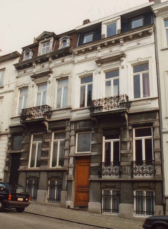 Rue Jonniaux 7 et 9., 1994