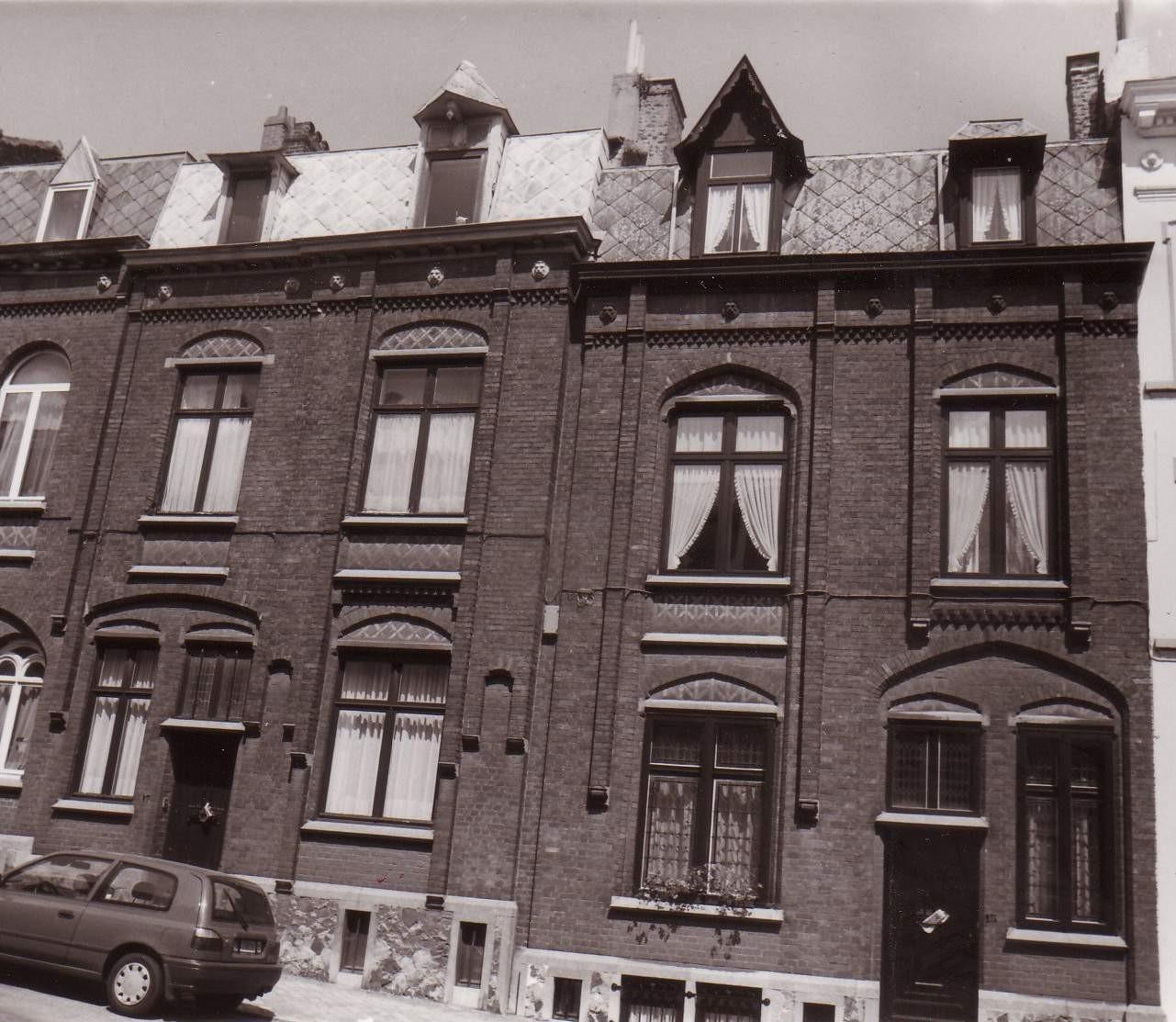 Rue Jonniaux 15 et 17., 1994