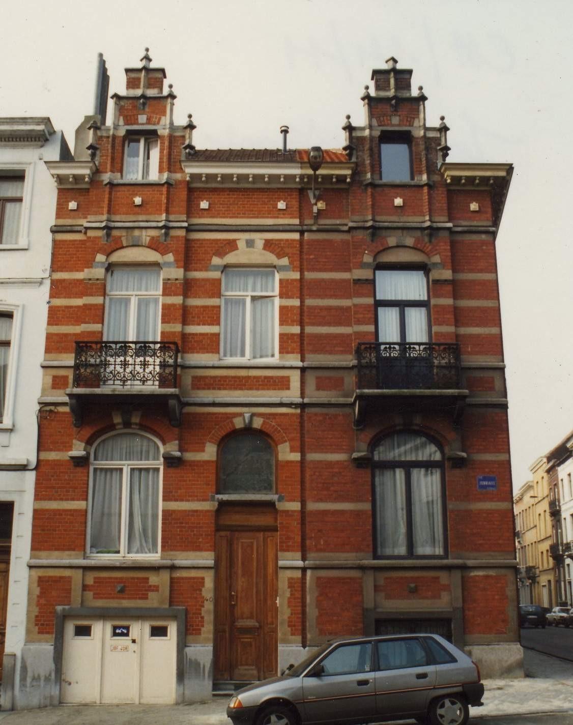 Rue Jonniaux 40 et rue du Cornet 121., 1994