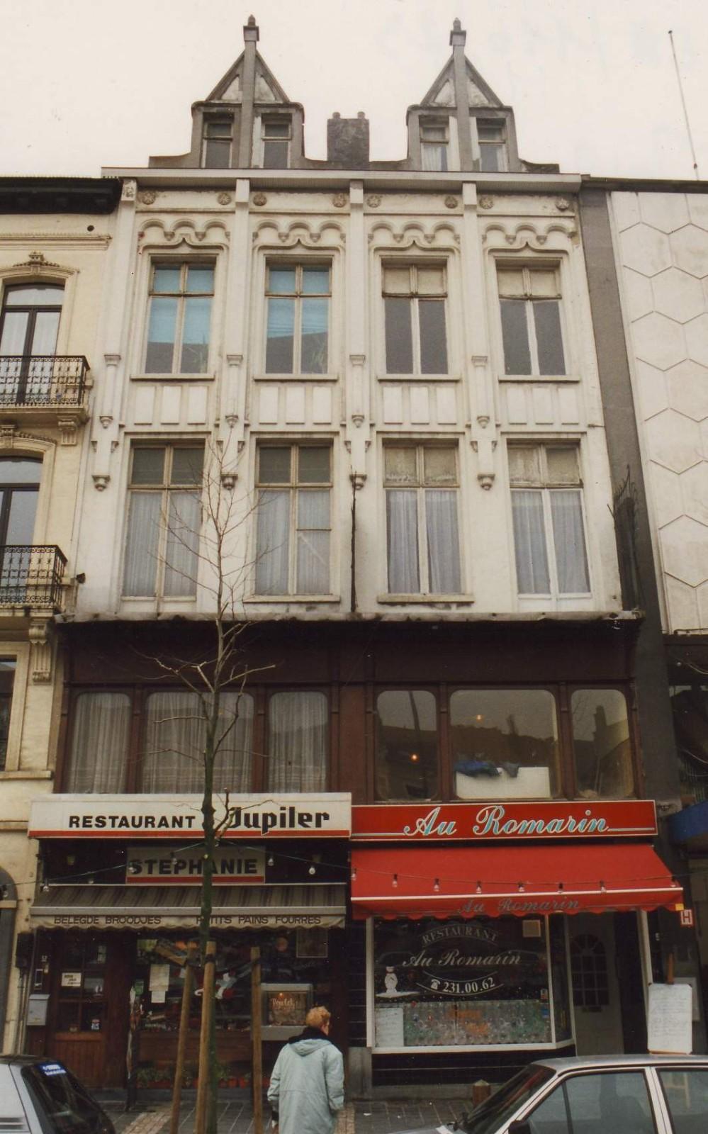 Place Jourdan 52 et 54., 1994