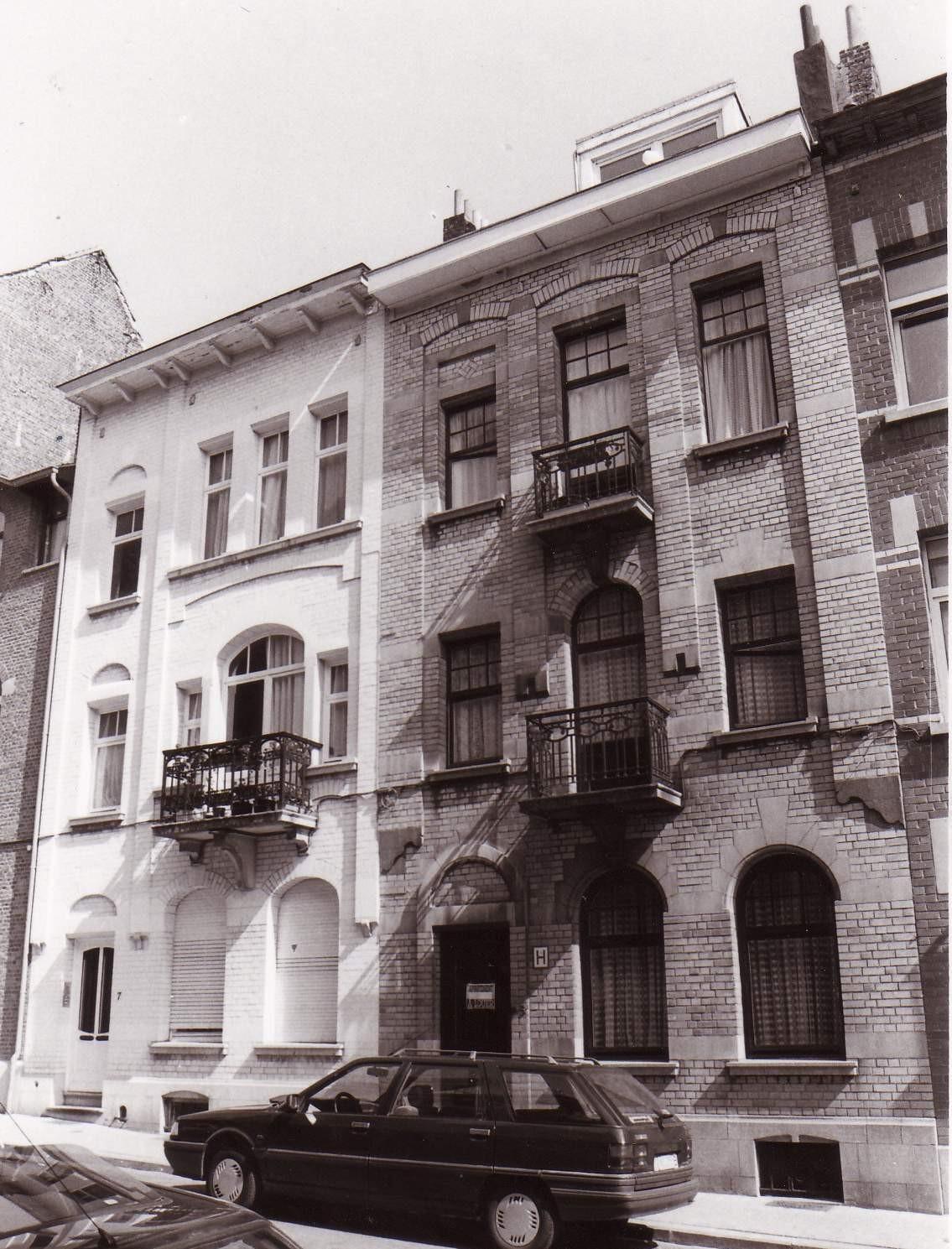 Rue Léon de Lantsheere 5 et 7., 1994
