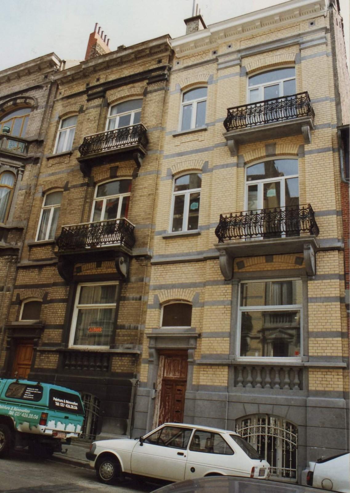 Rue Léon de Lantsheere 11 et 13., 1994