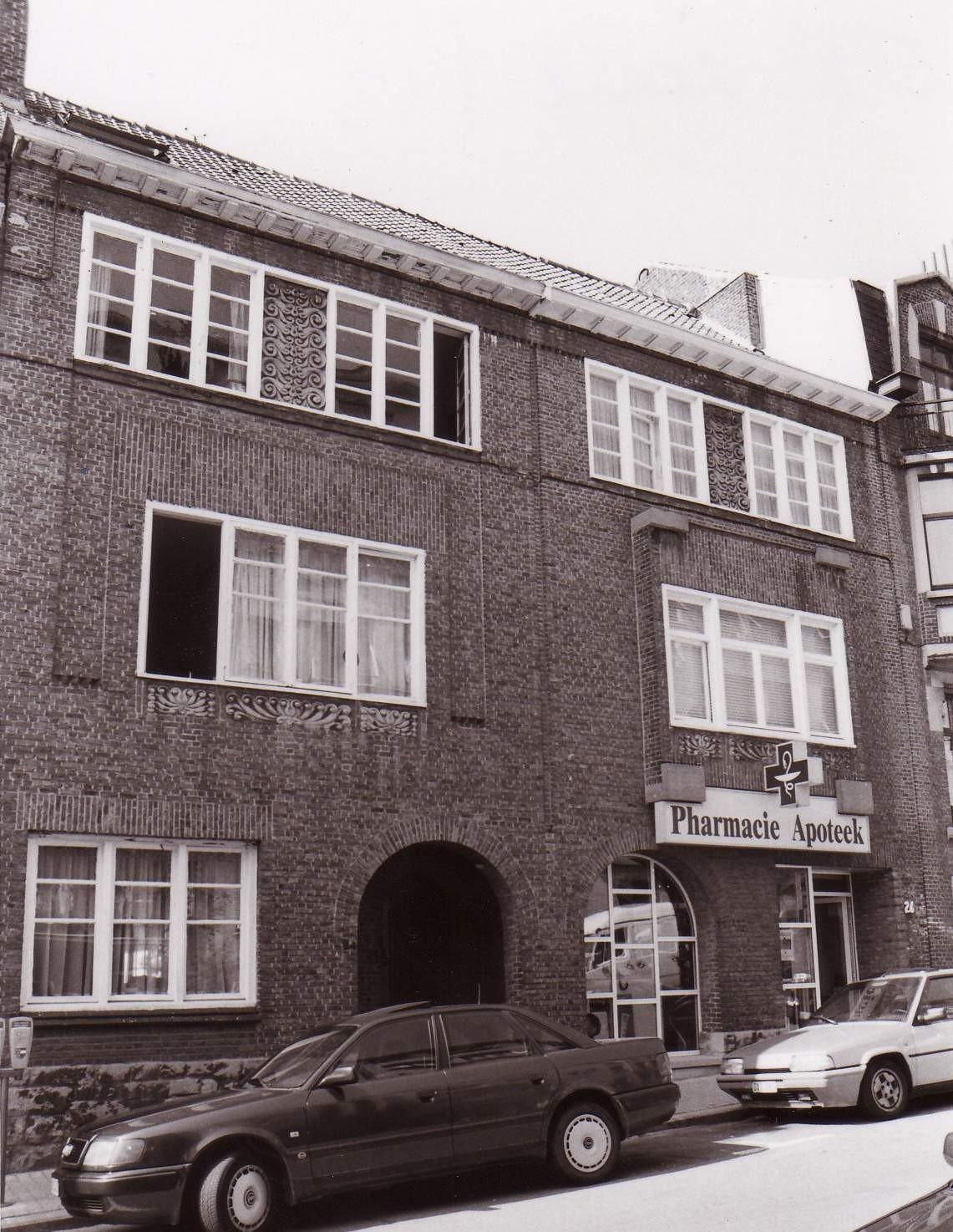 Rue Léon de Lantsheere 24 et 26., 1994