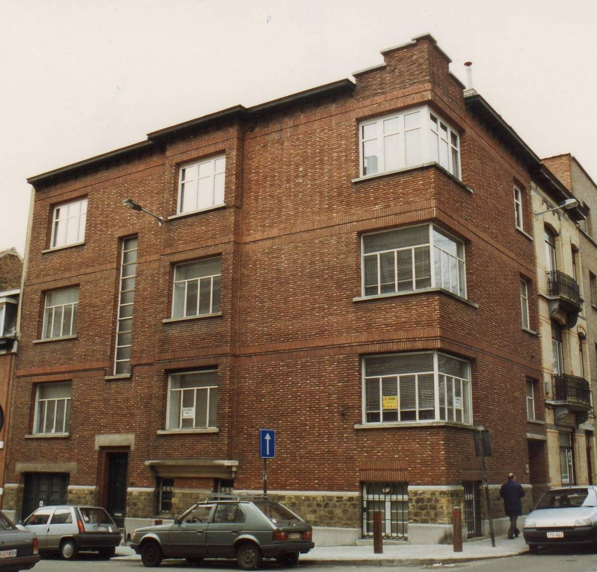 Rue Léon de Lantsheere 50 et rue de Linthout 138., 1994