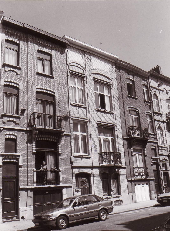 Rue Louis Hap 148 et 152., 1993