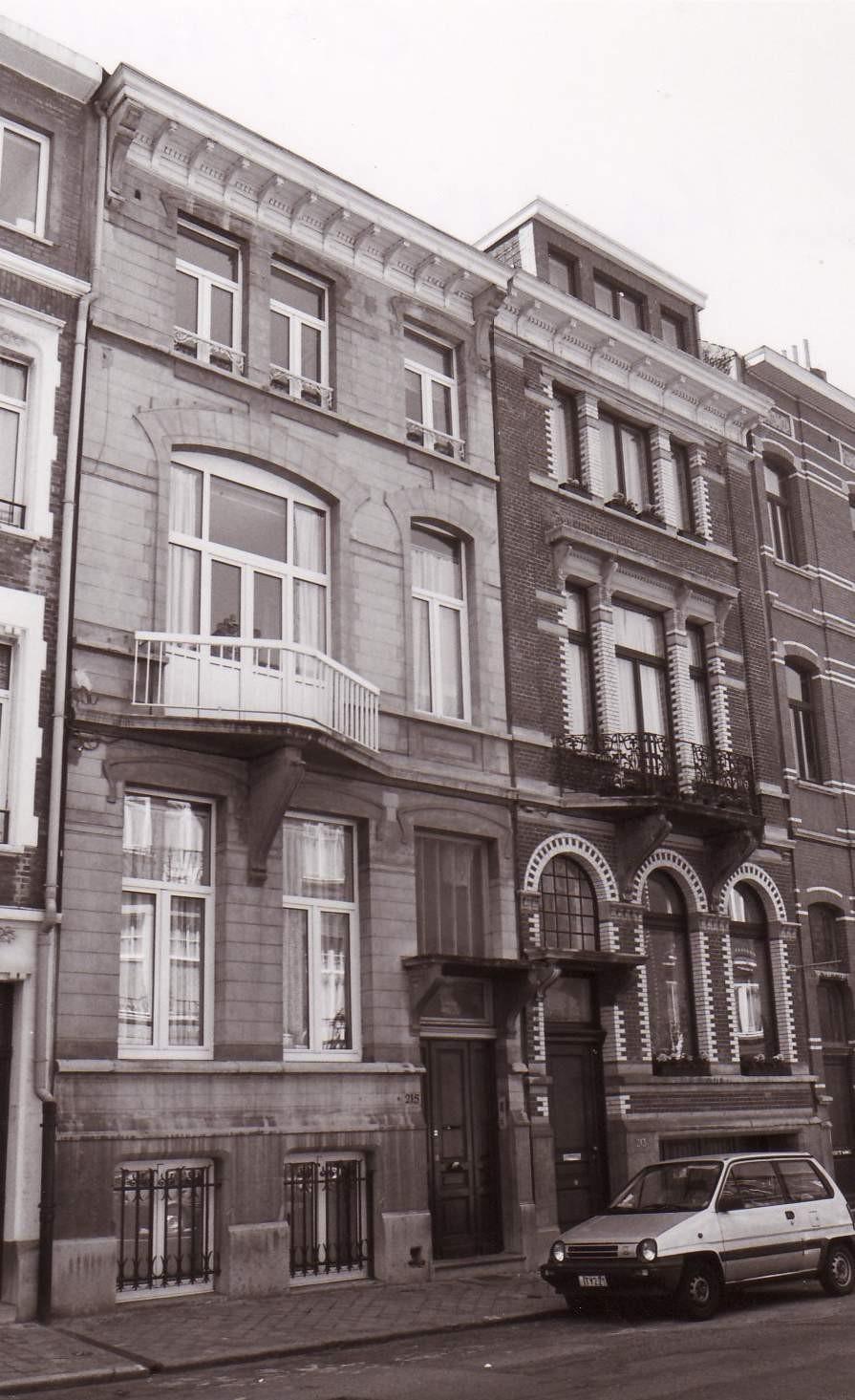 Rue Louis Hap 213 et 215., 1993