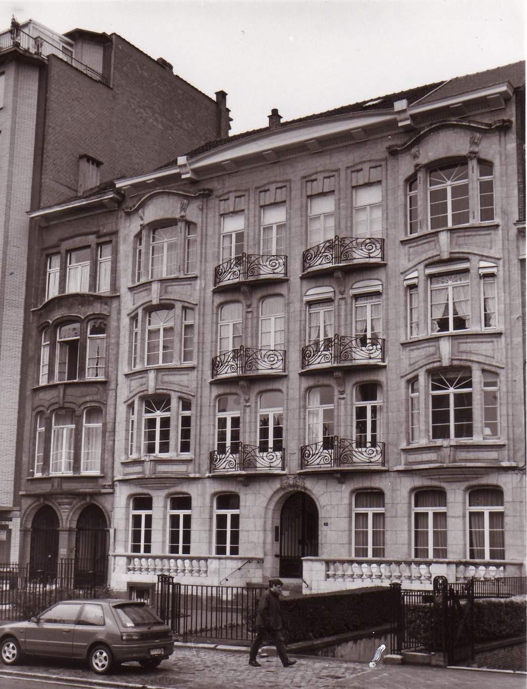 Boulevard Louis Schmidt 60 et 62., 1994