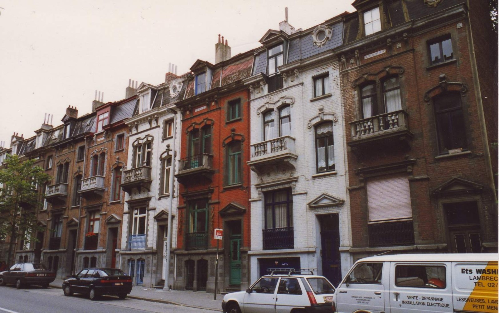 Avenue du Maelbeek 23 à 37., 1993