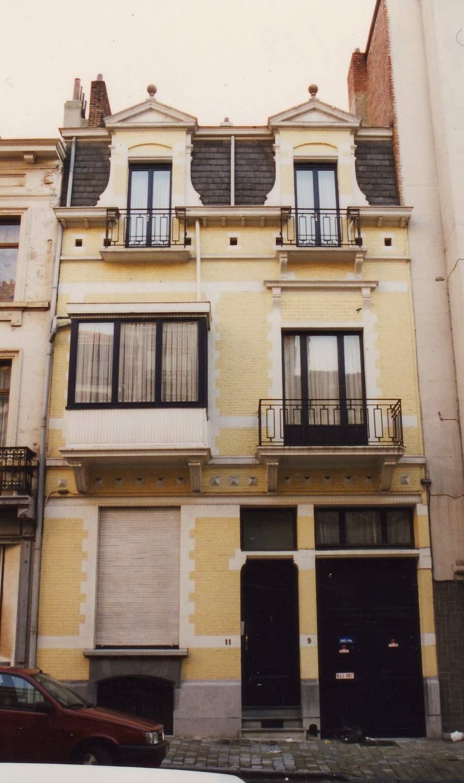 Rue des Ménapiens 9-11., 1993