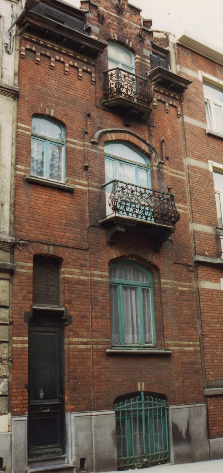 Rue des Moissonneurs 71., 1994