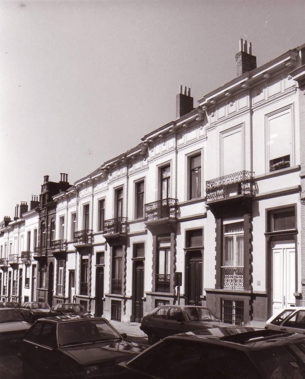 Rue Posschier 4 à 28., 1993