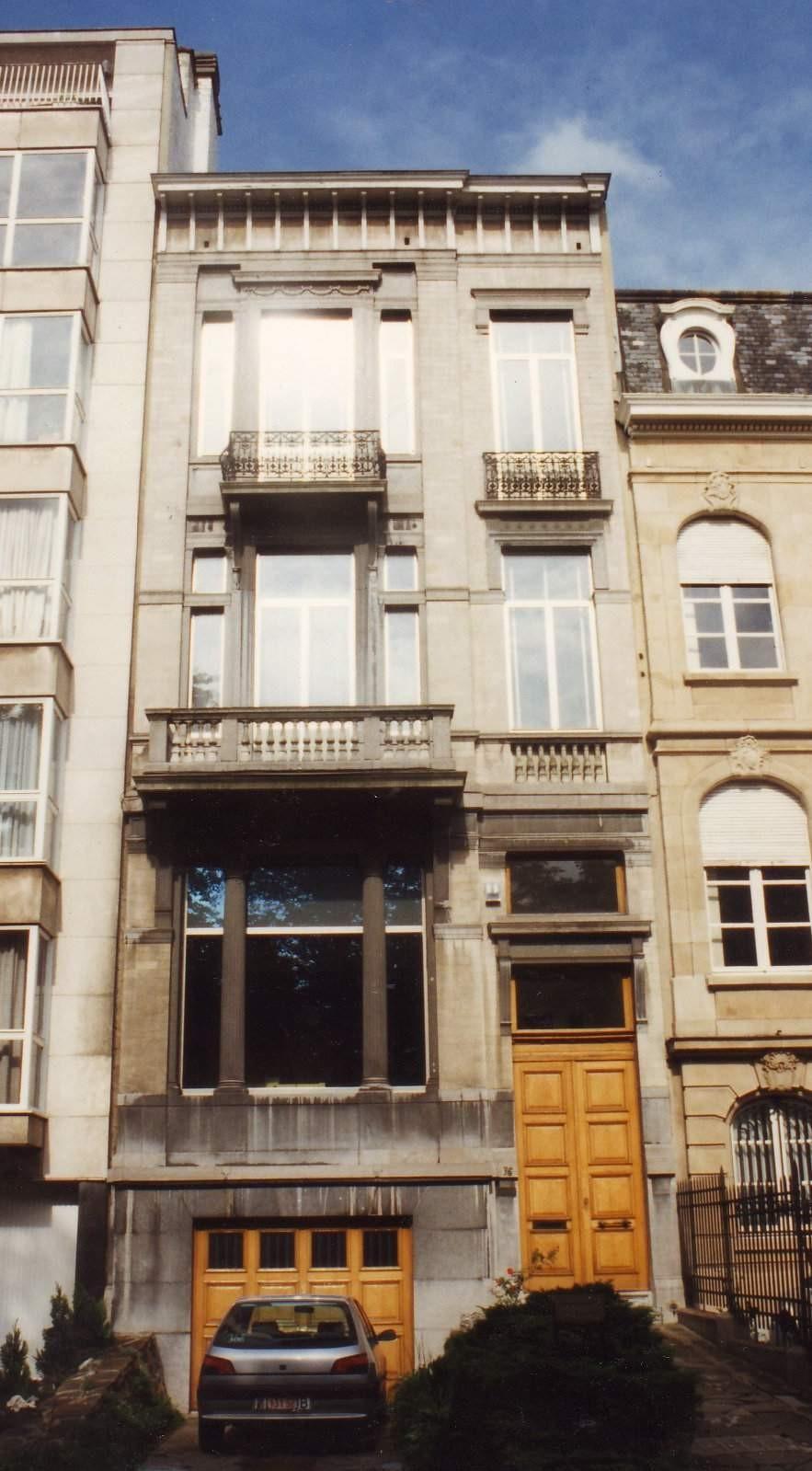 Avenue de Tervueren 76., 1994
