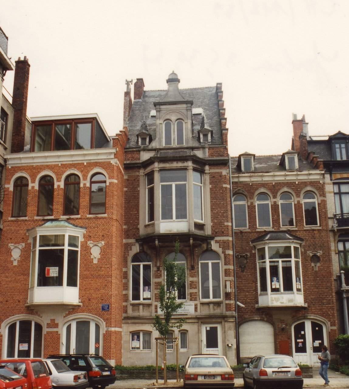Avenue de l'Yser 35, 36 et 37., 1994