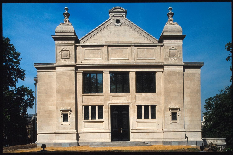 Rue Belliard 137-137A, ancien Institut de Sociologie (Bibliothèque Solvay)© (Collection Bastin&Evrard © SPRB)