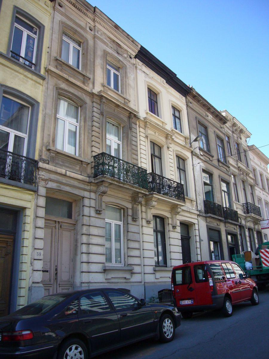 Rue Jacques de Lalaing 37, 39, 2009