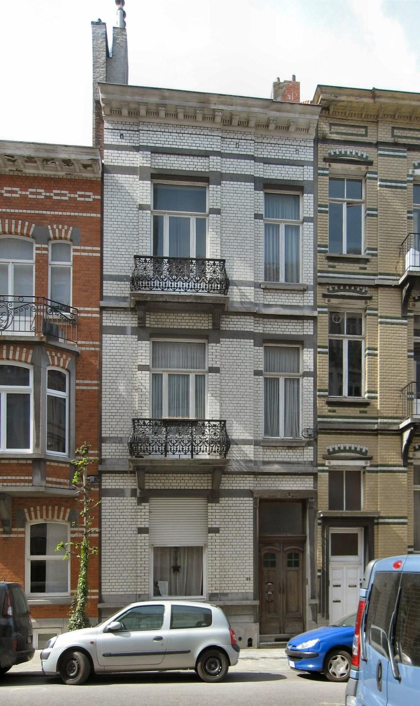 Rue Alphonse Hottat 25, 2010