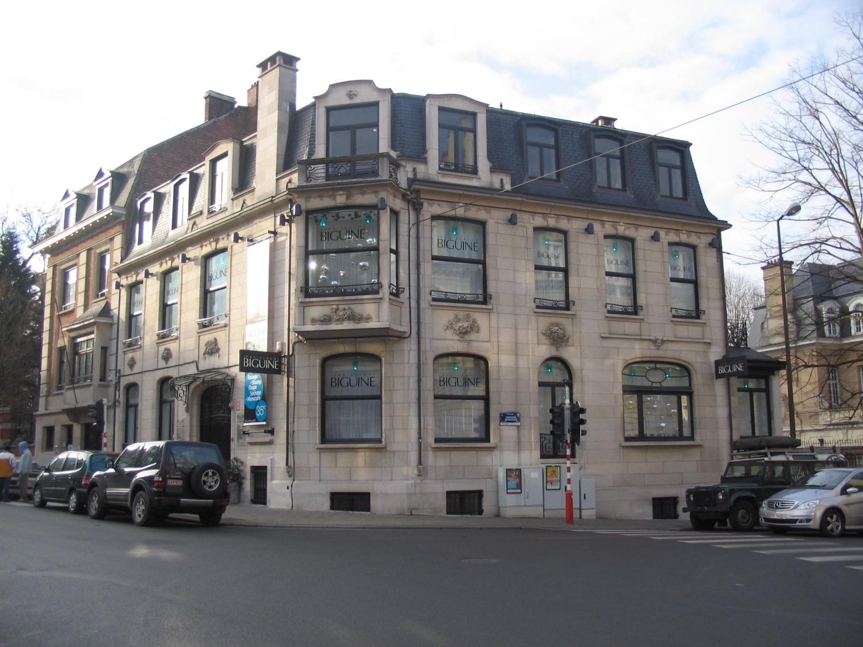 Rue Américaine 223–195 chaussée de Vleurgat.
