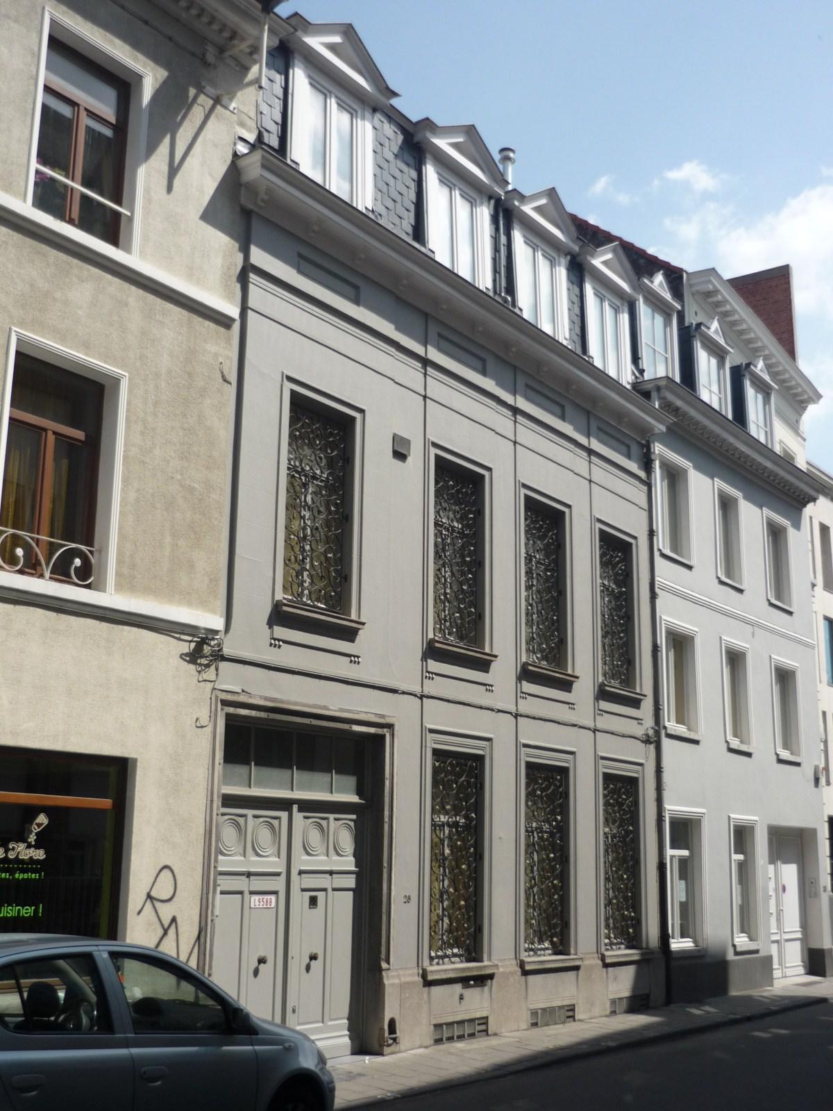 Rue de l'Arbre Bénit 28., 2009