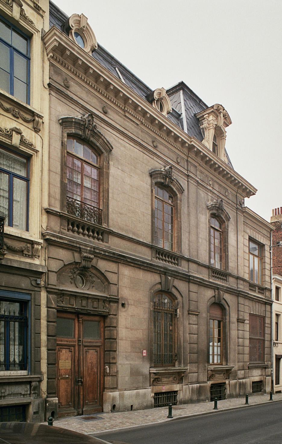 Rue de l'Arbre Bénit 123., 2009