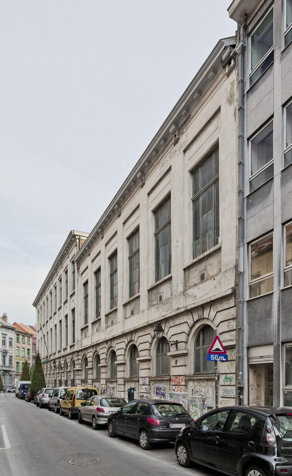 Rue de l'Athénée 17, Athénée royal d'Ixelles.© 2009 © bepictures / BRUNETTA V. – EBERLIN M.
