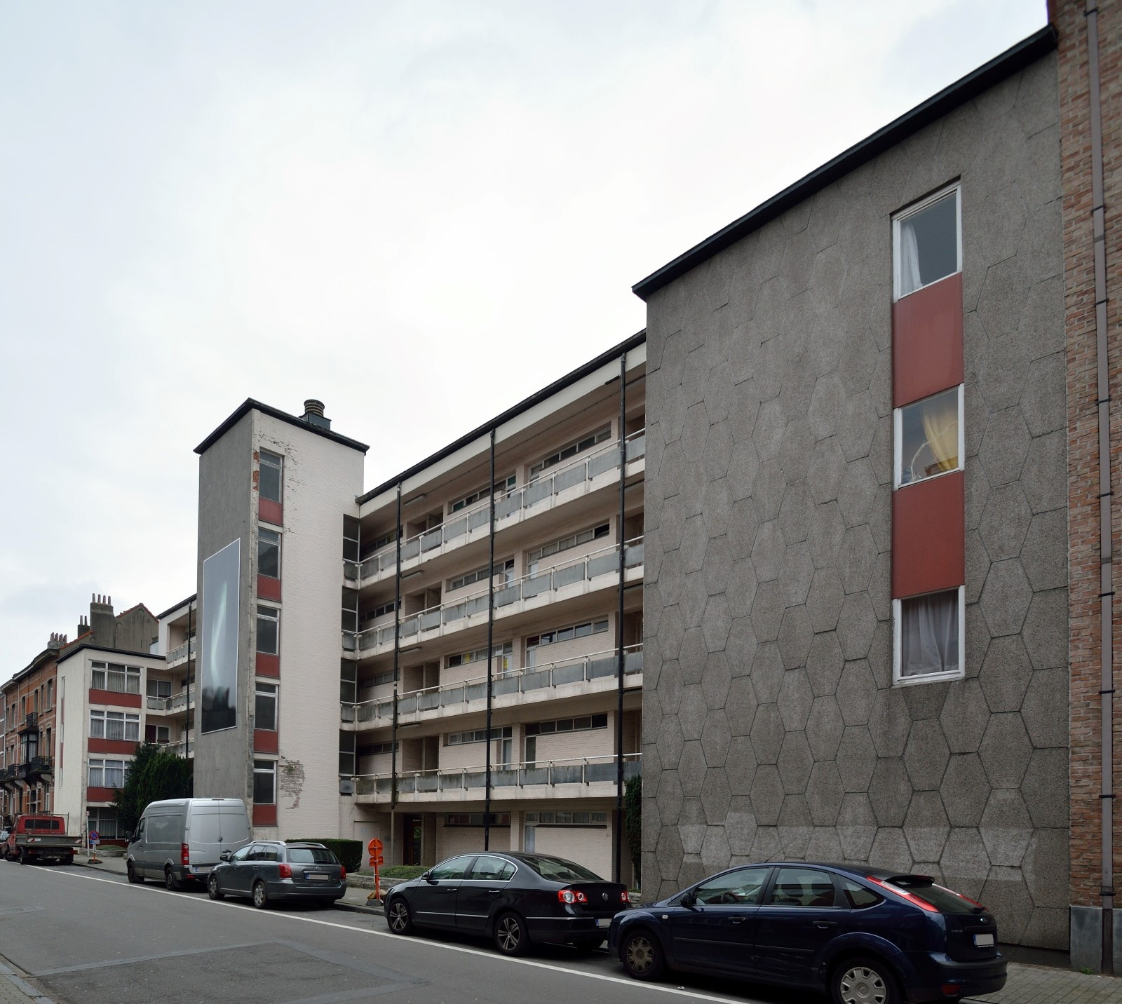 Avenue du Bois de la Cambre 76-88, 2014